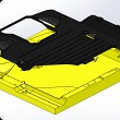 Carbon cover of car